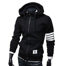 Load image into Gallery viewer, Mens Windproof Hoodie with Stripe Sleeves