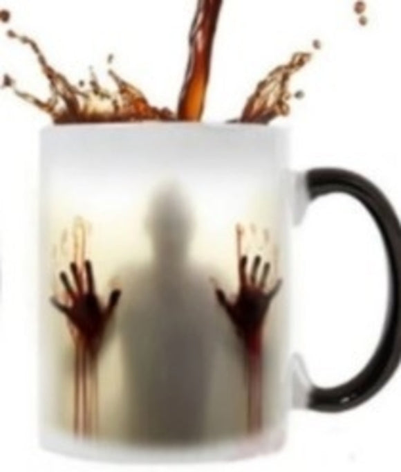 Magical Zombie Image Changing Ceramic Mug
