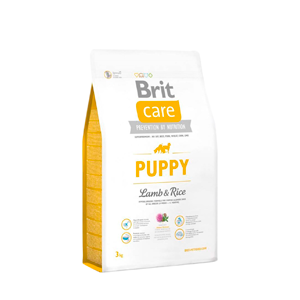 Brit Care Cordero y arroz cachorros 3 kg.
