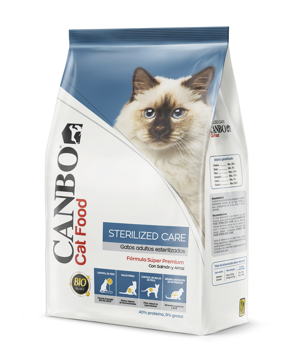 Canbo Cuidador de esterilizados/ sterilized care gatos adultos 3 kg.