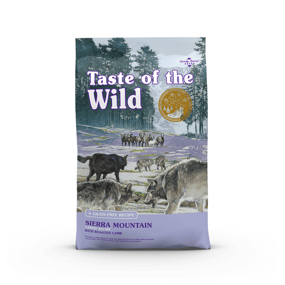 Taste Of The Wild Sierra mountain canine 12.2 kg.