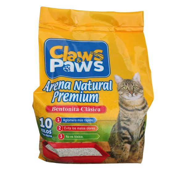 Claws & Paws Arena natural premium 10 kg.
