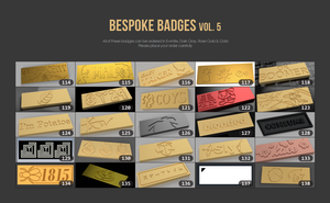 Ikki68 Aurora Bespoke Badges Vol.5 (114 -138)