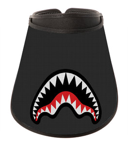 Fashion Visor - Black Shark