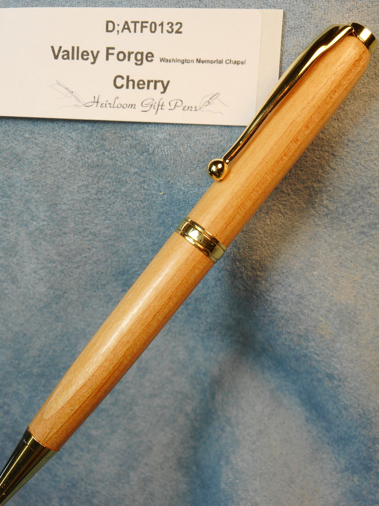 Valley Forge Washington memorial Chapel cherry pen # D;ATF0132