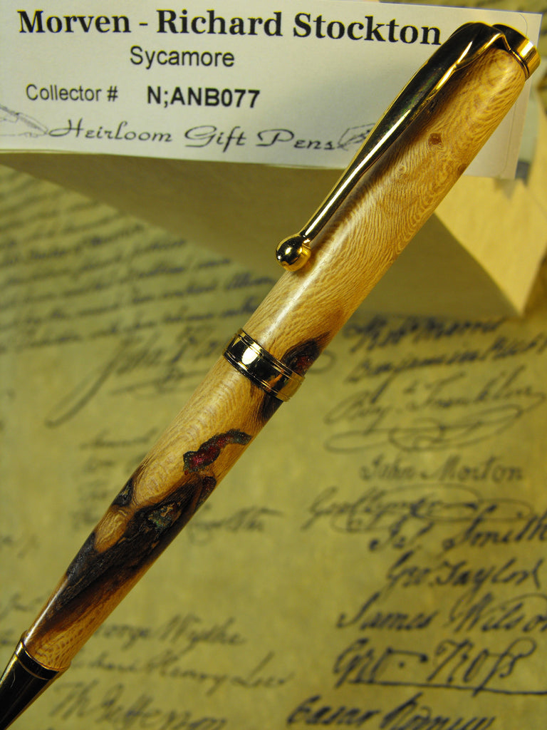 Richard Stockton Sycamore History Pen