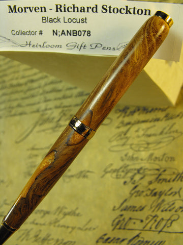 Dark Gold Declaration of Independence Signer Pen
