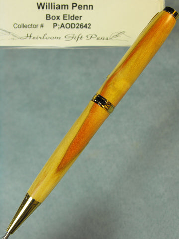 Red Blade William Penn Pen