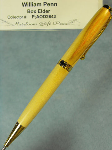 William Penn Flame of Freedom Pen