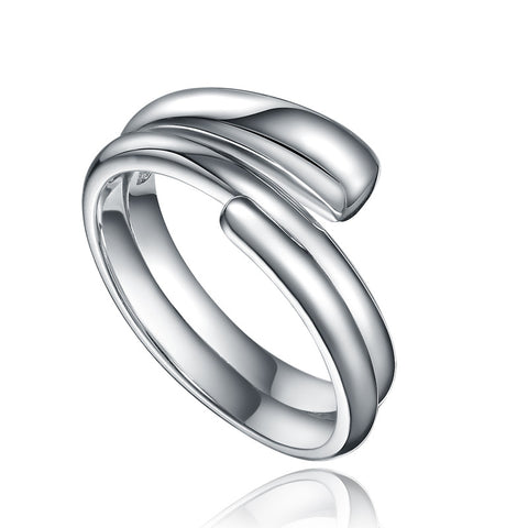 Sterling Silver Strands Ring