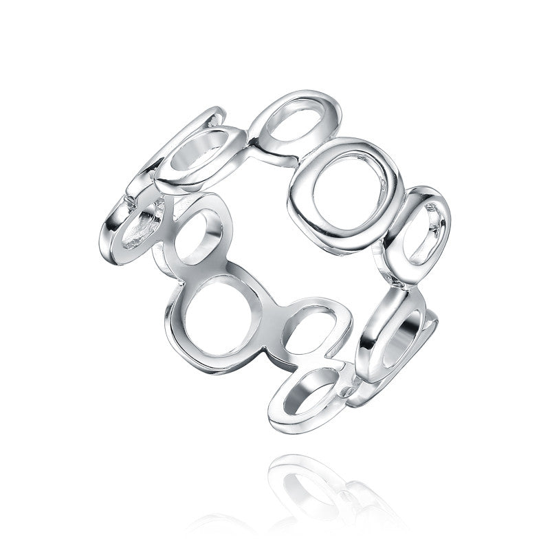 Sterling Silver Multi Hoop Ring