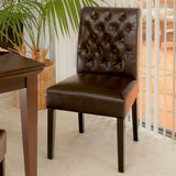 Elliston Brown Dining Chair (Set of 2)