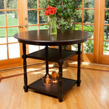 Orson Dark Espresso Counter Height Accent Table