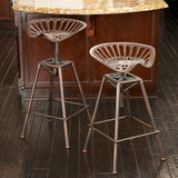 Riverside Saddle Copper Bar Stool 637162114728