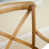 Marisol Tan Wood Dining Chair