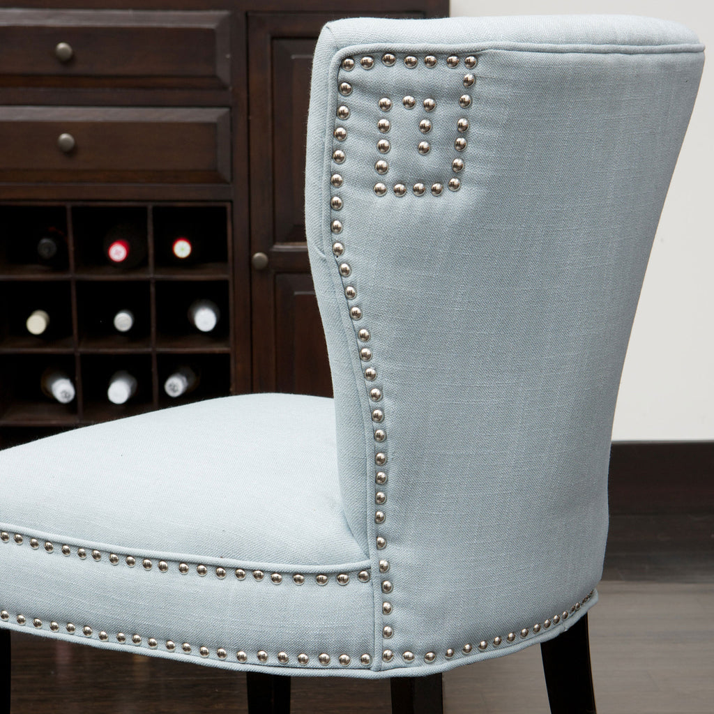 George Blue Fabric Dining Chair