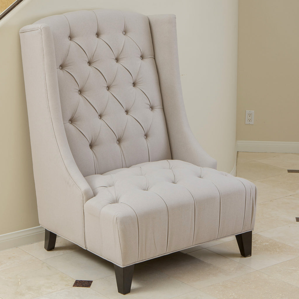 637162150313 Brubeck Wingback Accent Chair