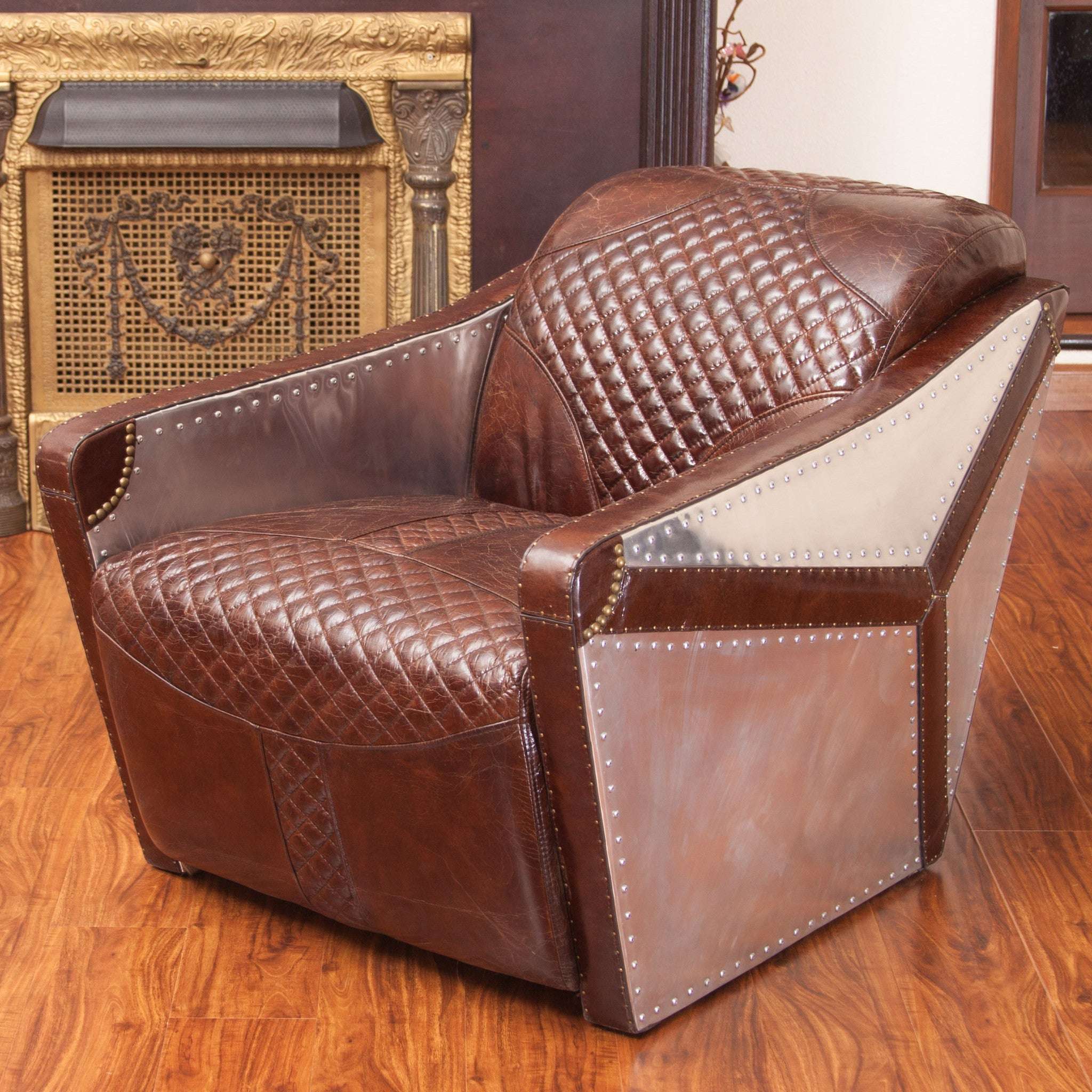 in product uk the club venetia yellow leather handcrafted chair