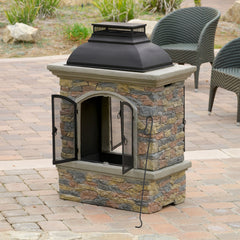 Clarks Outdoor Chiminea Fireplace