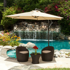 Acosta Outdoor Cantilever Patio Canopy Umbrella