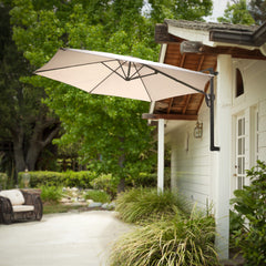 Aruba Folding Wall Mount Canopy Umbrella