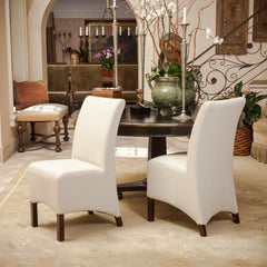 Avery Beige Fabric Parsons Dining Chairs (set of 2)