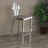 Ajay Stainless Steel Bar Stool