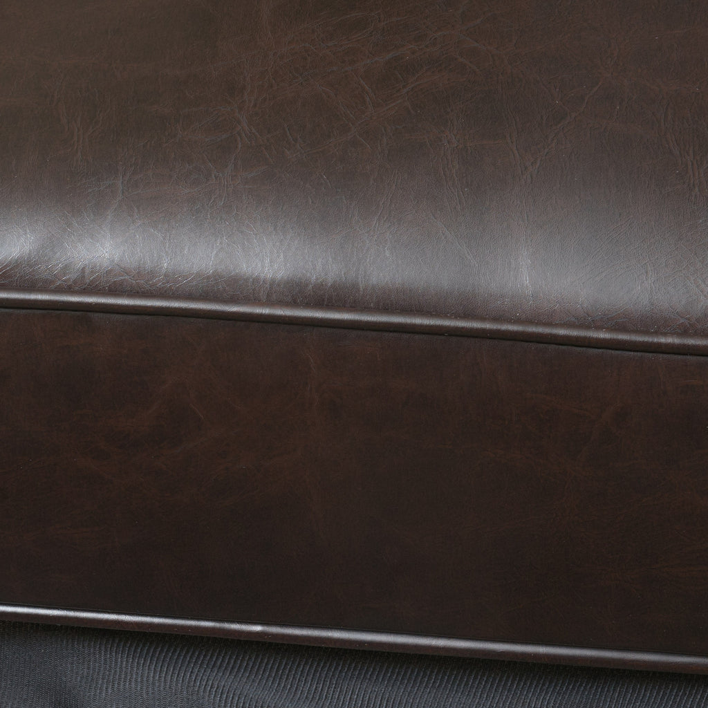 Oliver Brown Bonded Leather Recliner Chair