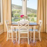 Bronwen Wood Dining Table w/ Leaf Extension