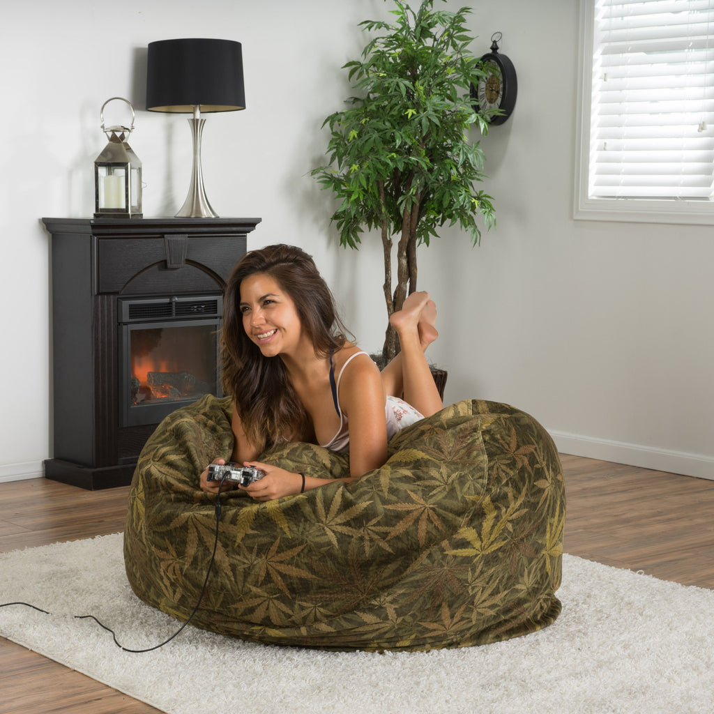 Ariana Marijuana/Weed Themed Bean Bag