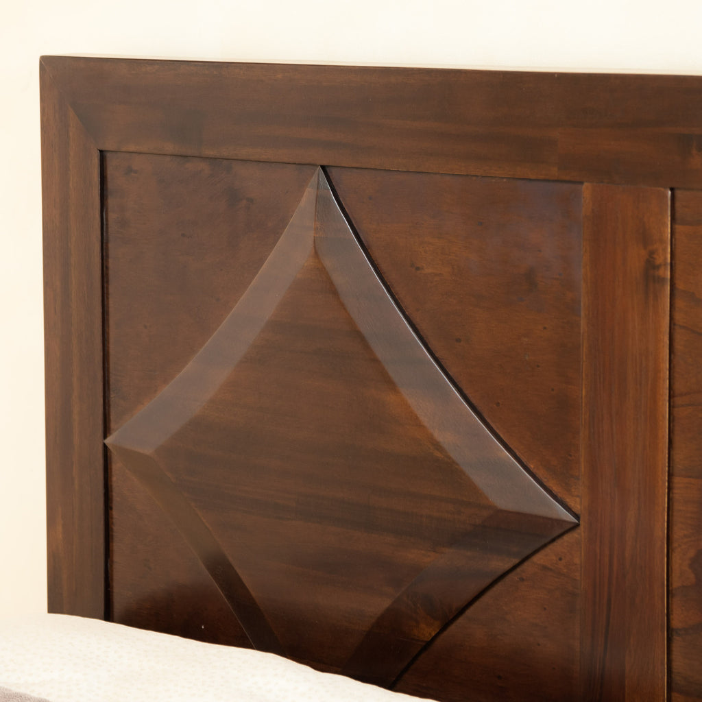 Benjamin Parish Queen Sized Brown Mahogany Headboard