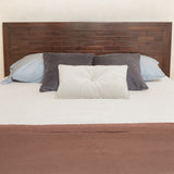 Ridder Queen Sized Brown Mahogany Headboard