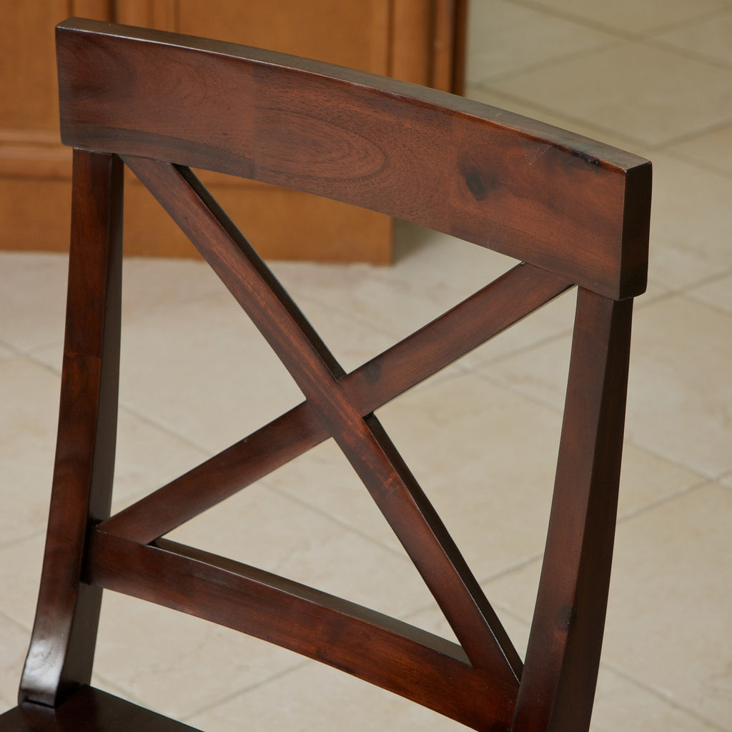 637162611166 Jackson Armed Crossback Wood Dining Chair