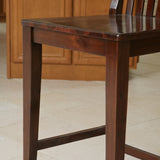 Garcia Acacia Wood Bar Stool