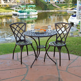817056012563 Glenbrook Bistro Set Full View Outdoor