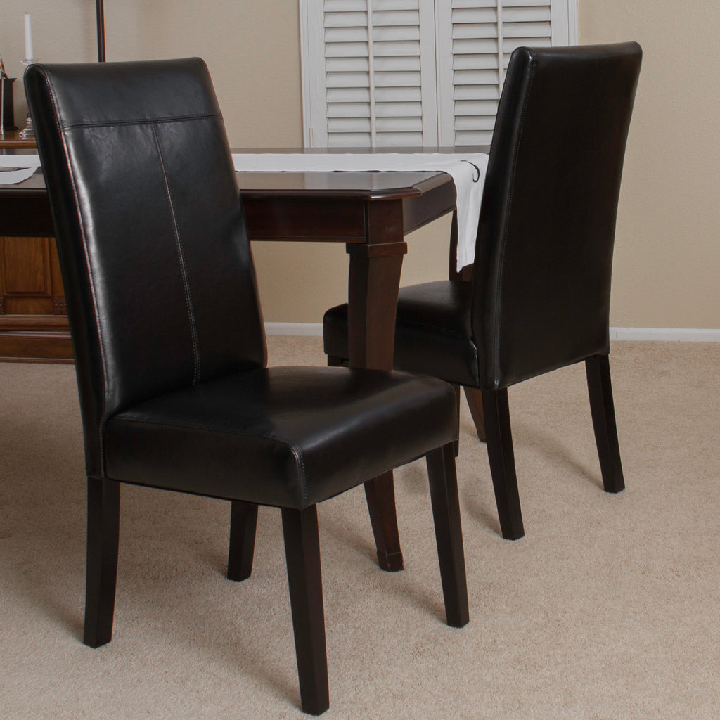 Emilia Black Dining Chair (Set of 2)
