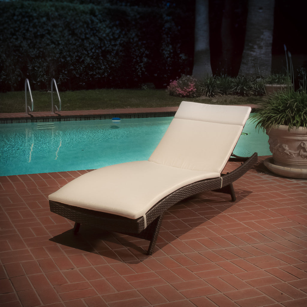 Lakeport Outdoor Adjustable Chaise Lounge Chair