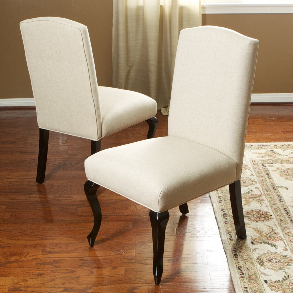 Kelsey Beige Dining Chair (Set of 2)