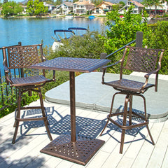 Athens Outdoor Bar Bistro Set