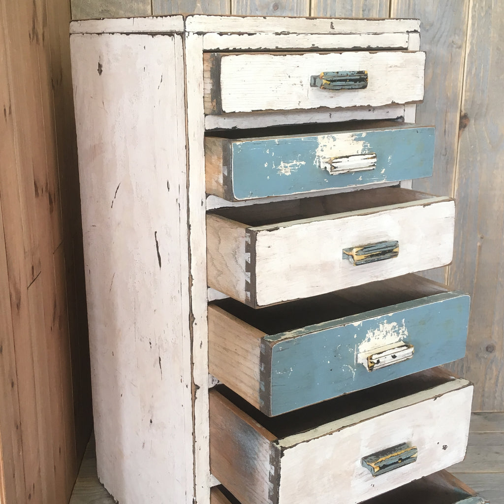 Industrial 6 Drawer Chest - edward & ellen