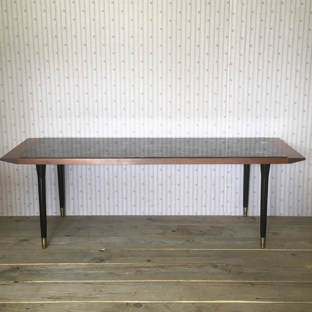 Mid Century Long Vintage Retro Coffee Table - edward & ellen