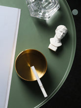 Load image into Gallery viewer, Gold stainless steel ashtray