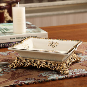 European Porcelain Ashtray