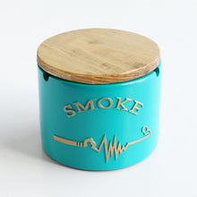 Load image into Gallery viewer, Letter Resin Ashtray With Lid
