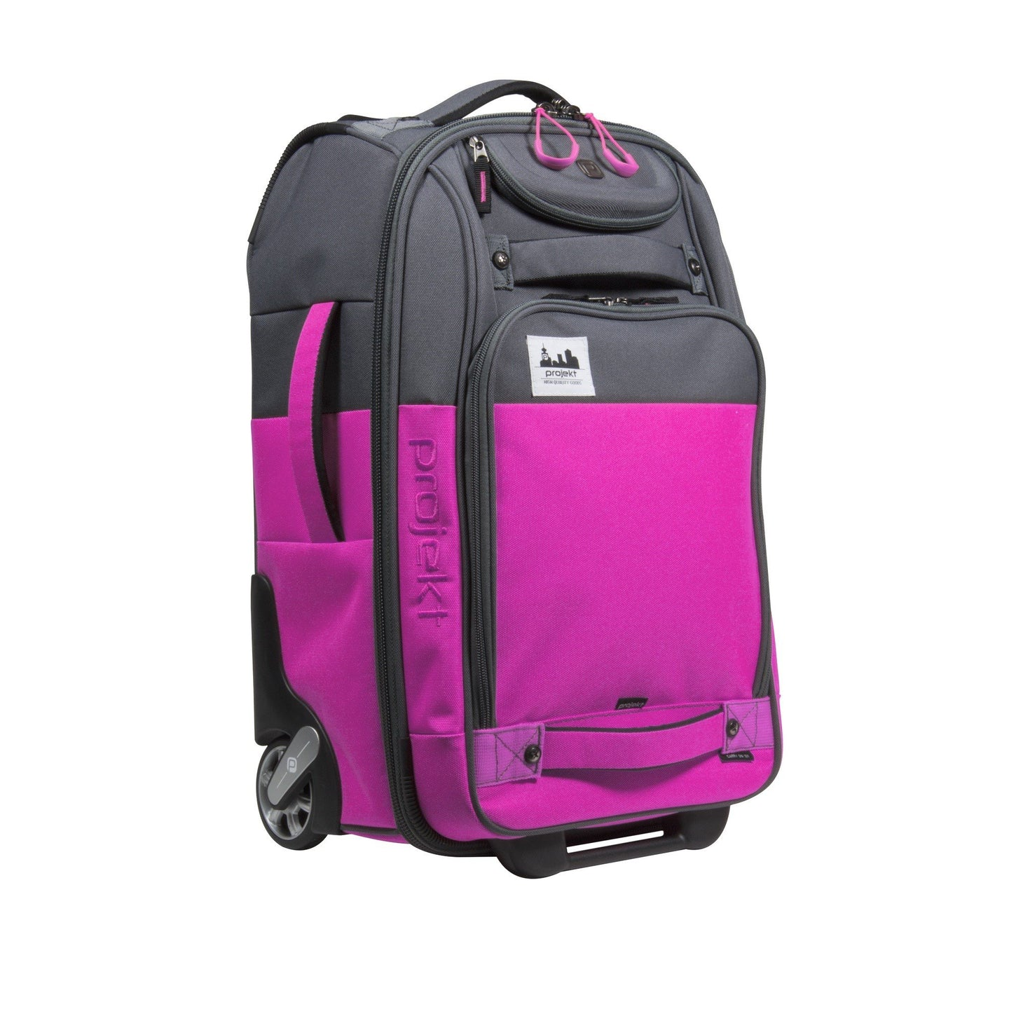 Carry-On 101 - Magenta/Charcoal