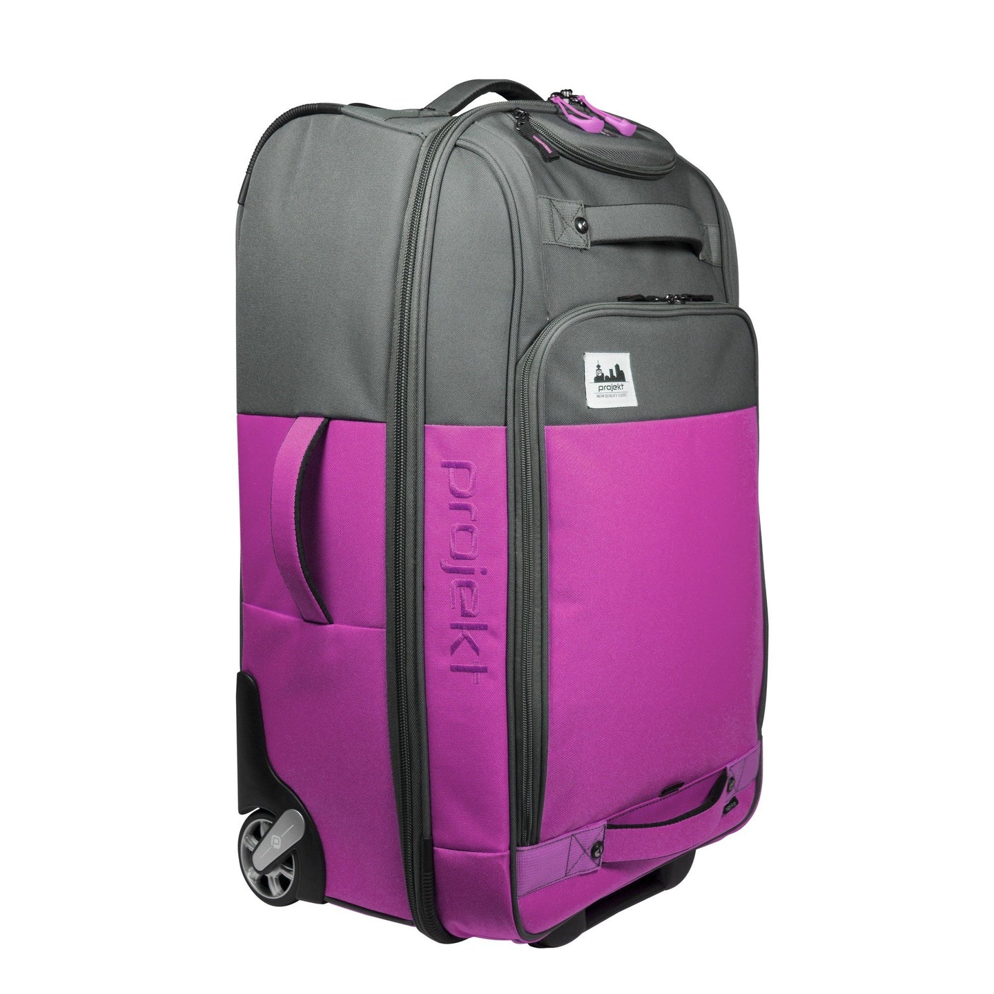 Check-in 101 - Magenta/Charcoal
