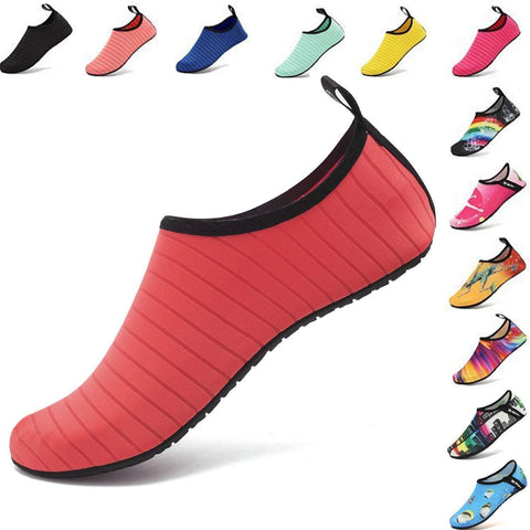 Womens and Mens Water Shoes Quick-Dry Aqua Socks