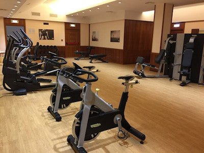 Travel tips - Use a fitness room when deserted