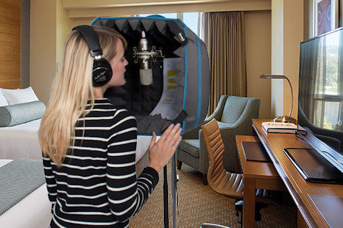 Travel tips - Do not use noise cancelling headphones - you need to hear the sound of the room