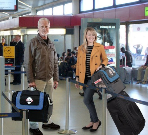 Porta-Booth Plus Carry-on Travel Bag - Easy to carry - Piggy-back on other luggage